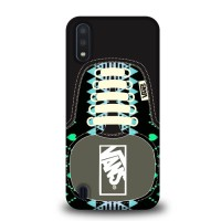 Casing Samsung Galaxy A01 Vans SHoes Aztec Pattern BLACK J0209