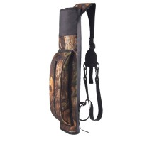 ◆▽ Outdoor Hunting Back Arrow Quiver Archery Bow Arrow Holder