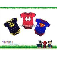 Terpopuler ! Jumper Bayi / Baby Romper Kaos Premium Batman Spiderman