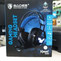 SADES XPOWER PLUS GAMING HEADSET