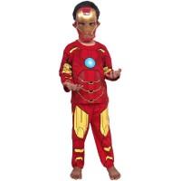 Baju Kostum dan Topeng Iron Man (Anak)