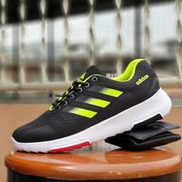 sepatu sport adidas gym & run black stabilo / sneakers gym pria