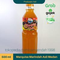 Sirup Markisa Asli Brastagi Medan - 500 ml (100% Gula Murni)