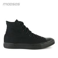 Sepatu Pria Converse Canvas Hi Full Black Original