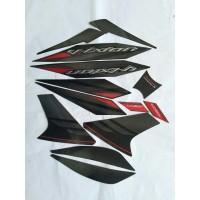 stiker striping yamaha vixion 2014 hitam