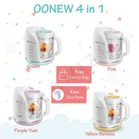 OONEW Petite Series Baby Puree 4in1 ( Free Bag and Rice Cooker)