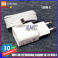 Charger Xiaomi Mi A1 ORIGINAL 100% Xiaomi Resmi Indonesia USB Type C