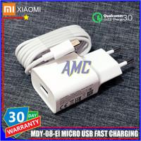 Charger Xiaomi ORIGINAL 100% Fast Charging Micro USB Resmi Indonesia
