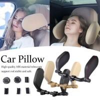 Car Seat Pillow Headrest Neck Travel Pillow Bantal Penyangga Jok Mobil
