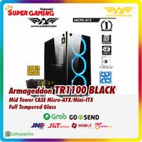CASE Armageddon TR1100 Black Promo Gaming Murah