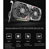 GEFORCE GTX 1650 Colorful iGame GeForce GTX 1650 SUPER Ultra OC 4G