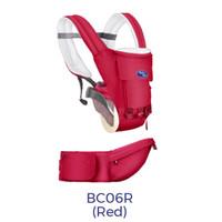 Baby Safe BC06 Hip Seat Carrier Gendongan Bayi - Merah