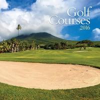 Turner Golf Courses 2016 Mini Wall Calendar, 7 x 7 inches (8950005)