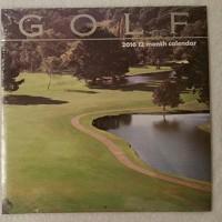 Golf 2016 12 Month Calendar