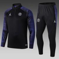 Terpopuler ! Jaket Bola Sweater Midlayer Tracksuit Training PSG AiR
