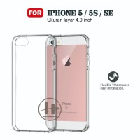Softcase iPhone 5G/5S/5SE Silicone Anticrack