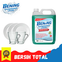 Sabun Cuci Piring 5 Liter Bening - EXTRA KUAT Lebih Hemat!
