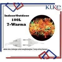 KUKE Lampu Tumbler 100 LED / Lampu Natal / Lampu Hias RGB 7 Warna