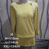 Baju kaos wanita kuning merk phenomenal original murah