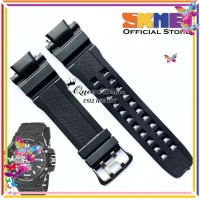 Strap tali jam tangan Skmei 0990 SKMEI AD 0990 Hitam tali skmei