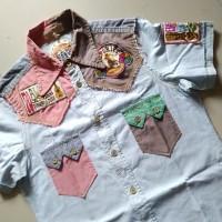 Pineapple Juice shirt, kemeja hawaii hippie second bekas origina murah
