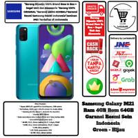 Samsung Galaxy M21 4GB/64GB M 21 4/64 GB 4/64GB Garansi Resmi-Green