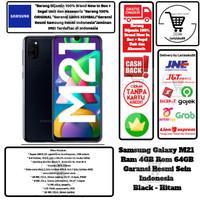 Samsung Galaxy M21 4GB/64GB M 21 4/64 GB 4/64GB Garansi Resmi-Black