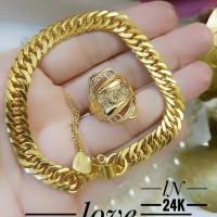 xuping gelang cincin lapis emas 24k q199