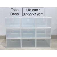 Kotak Sepatu Transparan Ukuran XL