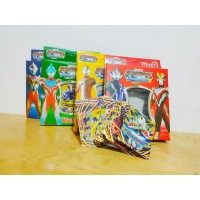 Mainan Kartu Ultraman Fusion Fight Versi 3 Full Gold Card Rare Card