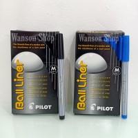 PULPEN PILOT BALL LINER / BALL LINER MEDIUM 0,8MM (PER PC)