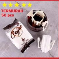 [50 PCS] MURAH! Saringan Kopi Kertas Filter Coffee Dripper Drip Bag