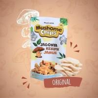 Keripik jamur sehat Mucy Original 80 gram