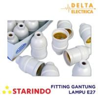 Starindo Fitting Gantung Lampu E27 Bulat