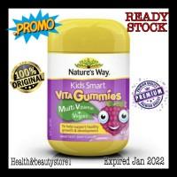Nature Way Kids Smart Vita Gummies Multi Vitamin+Vegies | 60 Tablet