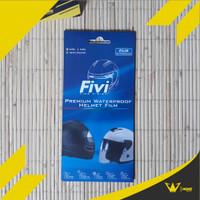 Kaca Film Fivi / Antifog Visor Helm / Fivi Find Vision / Waterproof