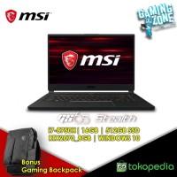 LAPTOP MSI GS65-9SF-011 (Ci7-Gen8/512GBSSD/16GB/RTX20708GB/W10H/2Y)