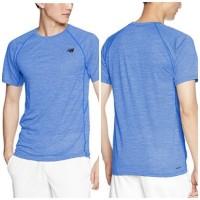 New Bal*nce Man Sport Shirt Baju Kaos Olahraga Pria Fitness Running