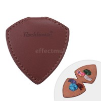 G & M 6Pcs Holder Pick Gitar Bahan Kulit PU + Microfiber dengan