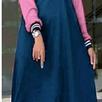 baju gamis wanita Maxi fila navi dres baju muslim