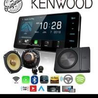 Paket Kenwood DDX 919WS KFCXS1703 KSC PSW8 Audio Mobil Terjamin