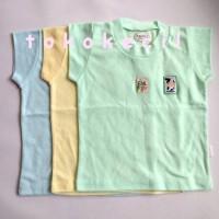 Hachi Oblong Warna isi 3 ukuran 30 kaos baju pakaian bayi
