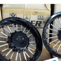 velg racing vario 125 / 150 old power andong hitam chorome