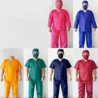 Seragam Baju OKA | Baju Jaga Perawat | Lengan Pendek CLEARANCE SALE