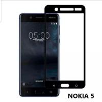 Nokia 5 Tempered Glass Anti Gores Kaca Screen Guard Full Cover