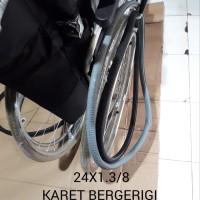Ban belakang kursi roda/ban mati karet kursi roda