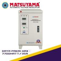 Stabilizer Listrik Stavolt Voltage Regulator MATSUYAMA 10000 Watt