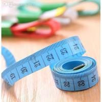 Pengukur Badan / Baju Tali Pita Meteran Jahit Baju Pocket Uk 150cm