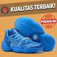 Sepatu Basket Sneakers Adidas Harden 4 Royal Blue Biru Pria Wanita