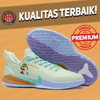 Sepatu Basket Sneakers Nike Kobe Mamba Focus Squidward Green Purple